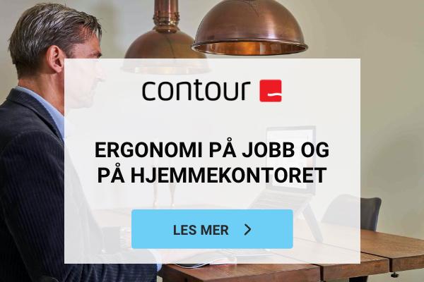 Contour Designergonomi På Jobb Og Hjemmekontor 600x400